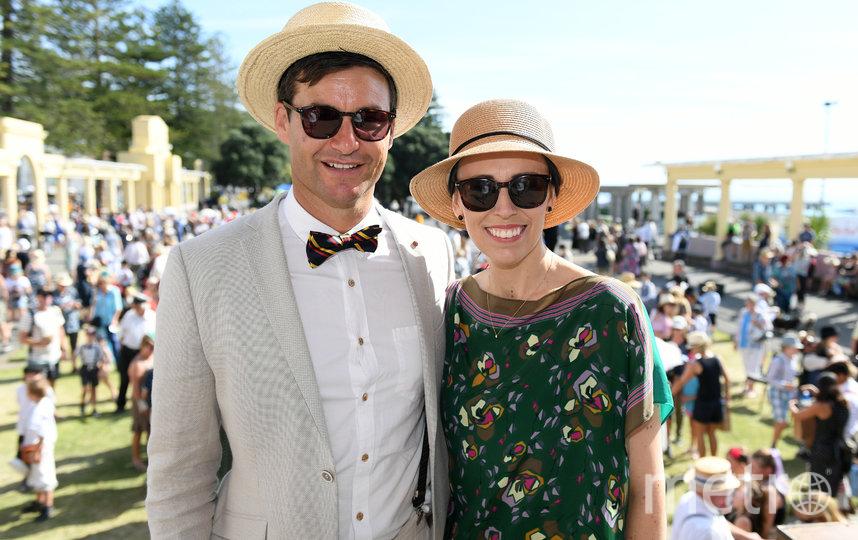 Кларк Гейфорд и Джасинда Ардерн. Фото Getty