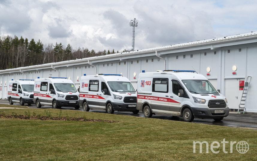 В столице за сутки скончались 77 пациентов с подтверждённым коронавирусом. Фото AFP