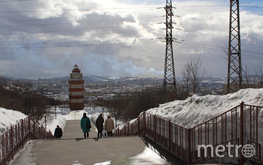 "В Мурманске холодно, но очень живописно. Фото ""Metro"""