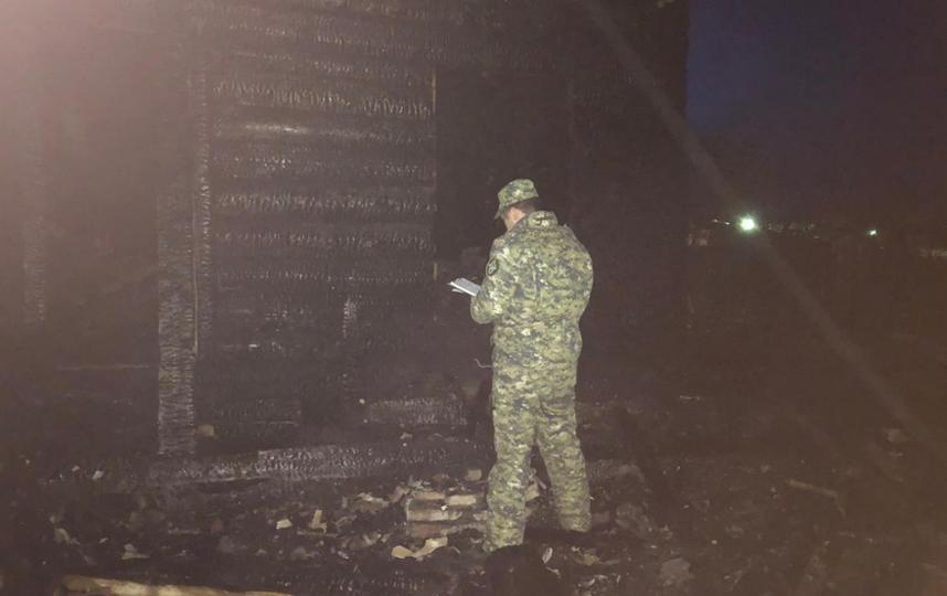 Фото с места происшествия. Фото lenobl.sledcom.ru