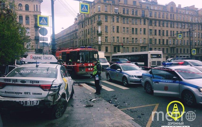 Фото с места происшествия. Фото dorinspb, vk.com