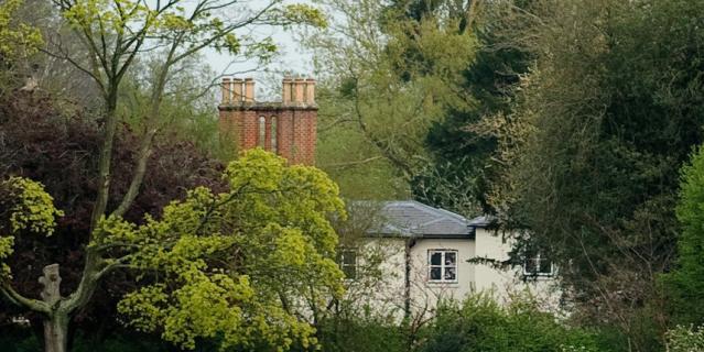 Фрогмор-хаус, резиденция принца Гарри и Меган Маркл в Великобритании.