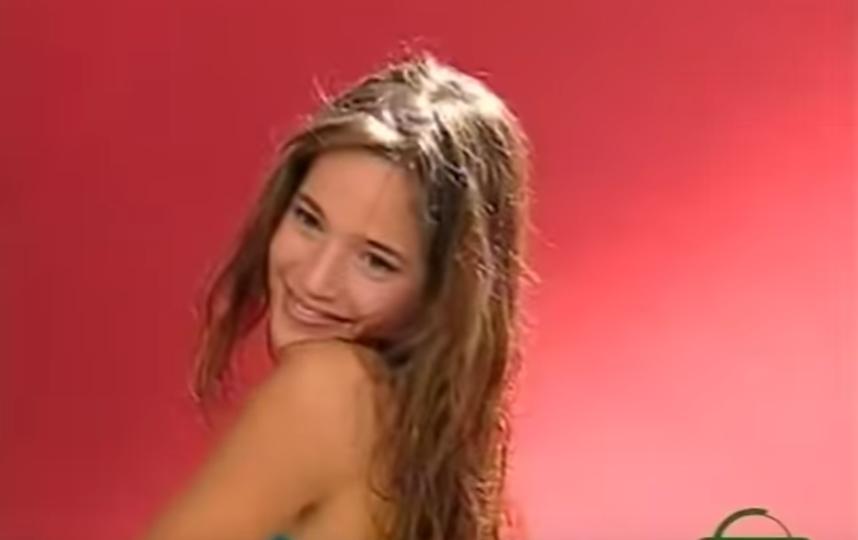 Луисана Лопилато в юности. Фото Скриншот Youtube