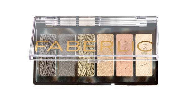 Палетка теней Faberlic Beauty Vibes (999 руб.).