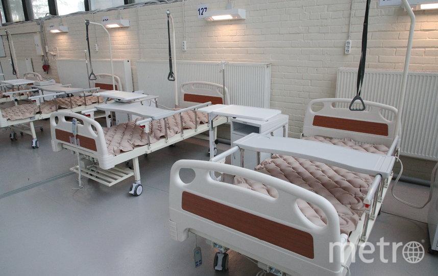 Строители передали госпиталю дополнительно 474 койки. Фото gov.spb.ru