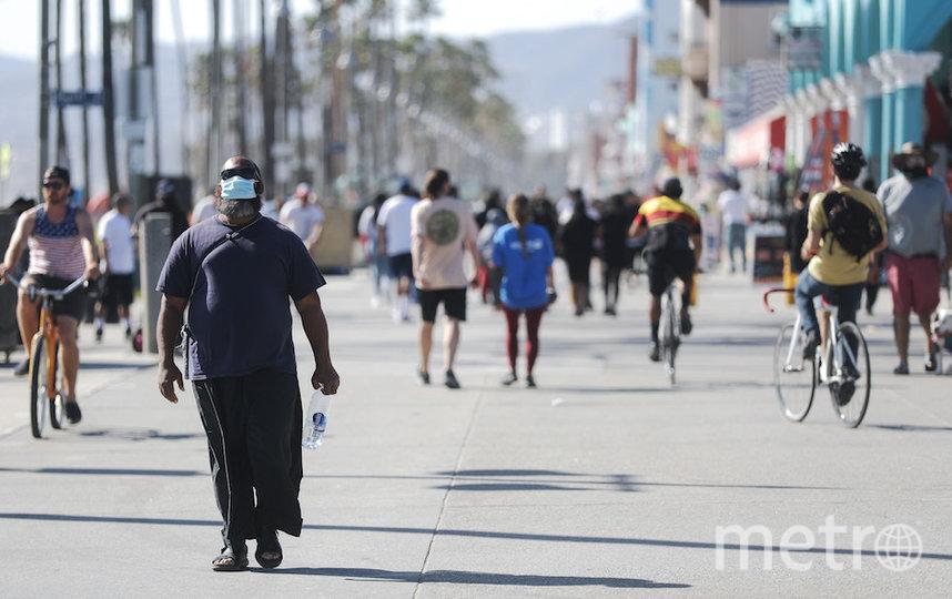 Набережная в Лос-Анджелесе. Фото AFP