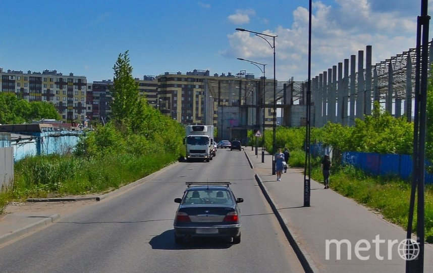 Кудровский проезд. Фото Яндекс.Панорамы