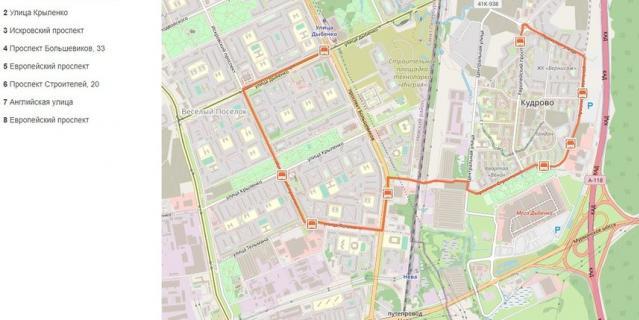 Скриншот: wikiroutes.info.