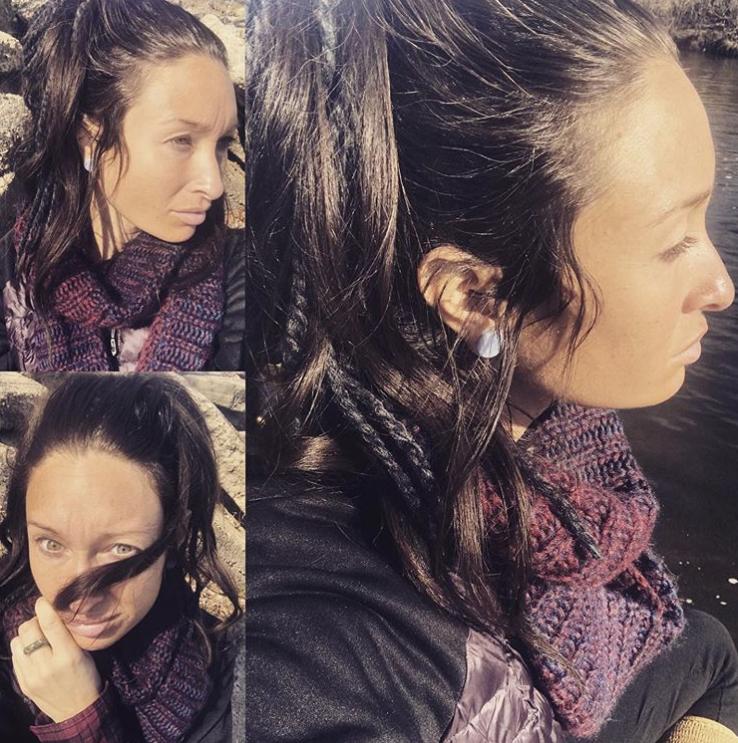 """""""Эти волосы я не мыла 2 месяца и 10 дней!"""", – пишет участница челленджа, добавляя, что потратила освободившееся время на гораздо более важные дела. Фото Instagram @hannah.d.valencia"""