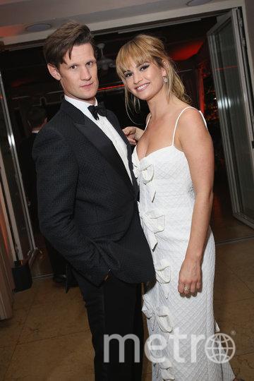 Мэтт Смит и Лили Джеймс. Фото Getty