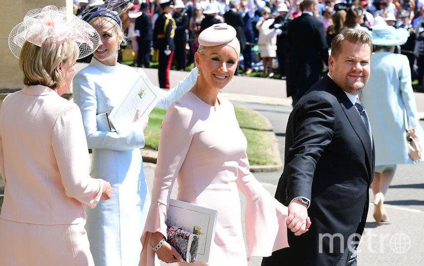 Джеймс Корден на свадьбе принца Гарри и Меган Маркл. Фото Getty