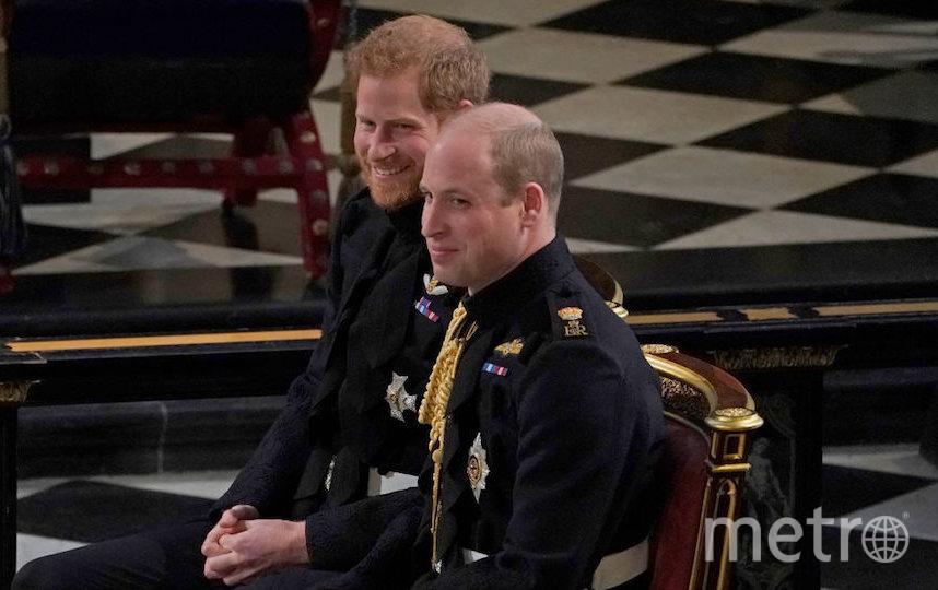 Принцы Гарри и Уильям. Фото Getty