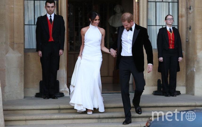 Принц Гарри и Меган Маркл после свадьбы. Фото Getty
