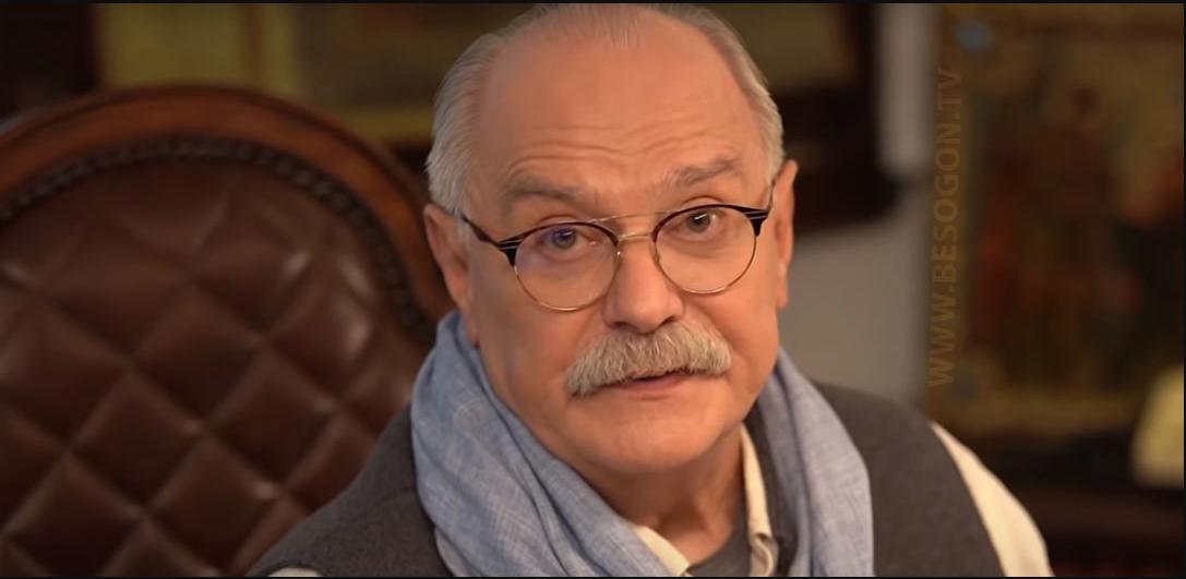 Никита Михалков. Фото скриншот besogon.tv