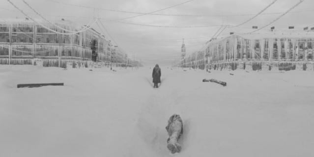 """Кадры из фильма """"Блокадный дневник""""."""
