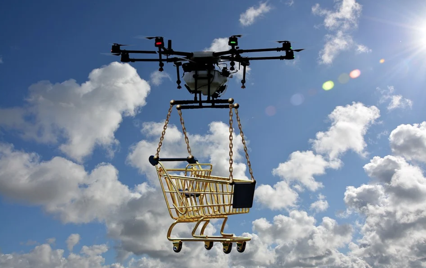 Рестораторы предложили доставлять продукты студентам с помощью дронов. Фото Pixabay