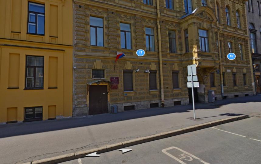 Октябрьский районный суд. Фото Яндекс.Панорамы