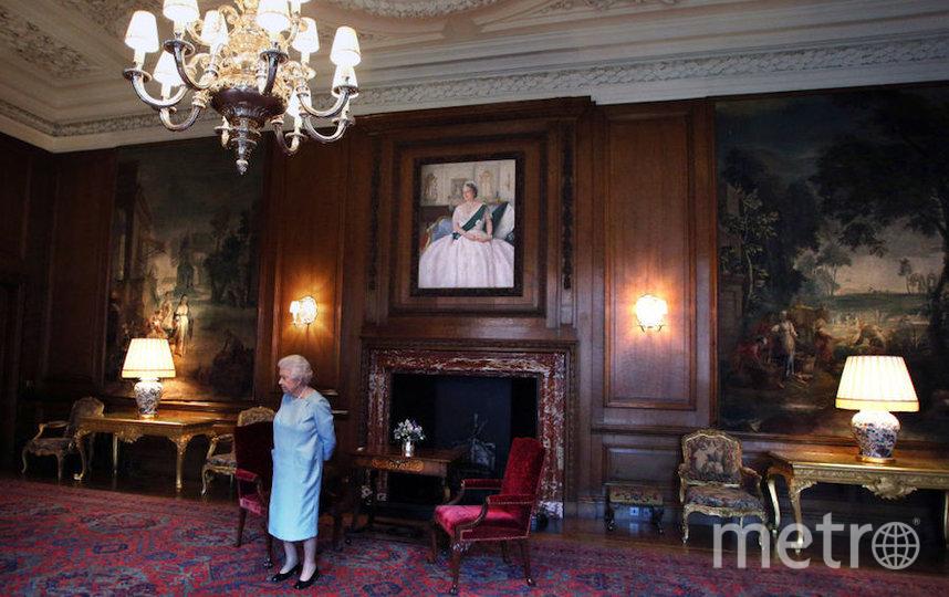 Королева Елизавета II в Холирудском дворце. Фото Getty