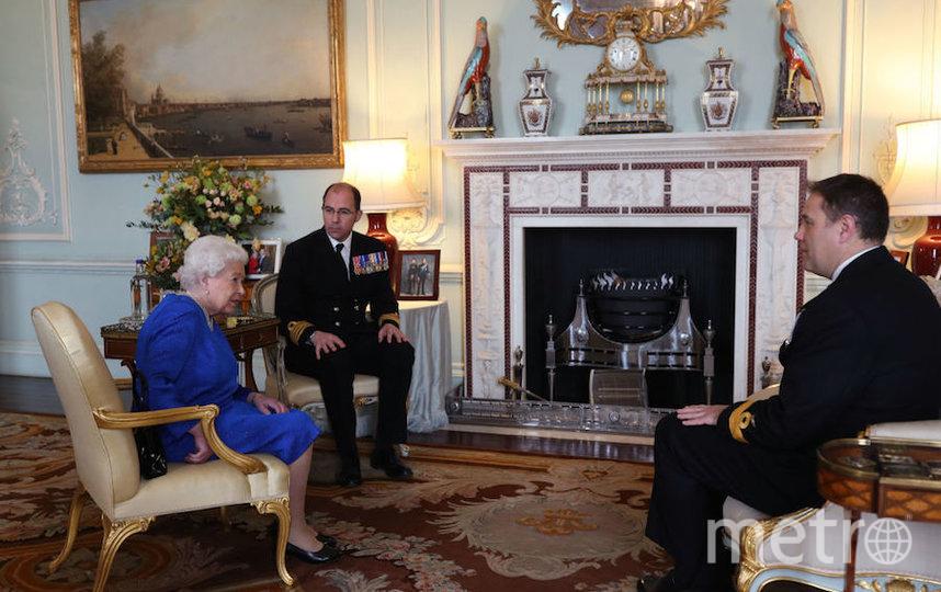 Одна из последних аудиенций королевы Елизаветы II в Букингемском дворце. Фото Getty