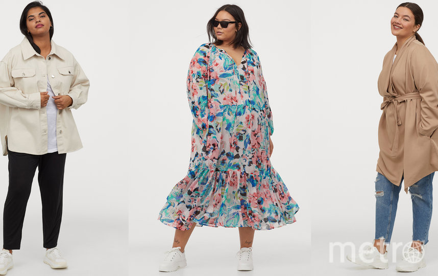 "H&M+. Фото Предоставлено интернет-магазином, ""Metro"""
