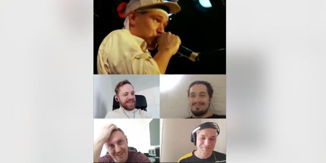 """Влади из """"Касты"""" вместе с другими членами команды в режиме видеоконференции посмотрели собственный концерт 13-летней давности."""