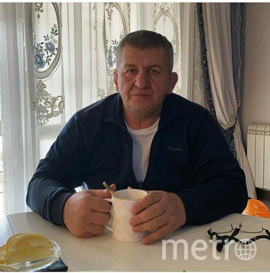 Абдулманап Нурмагомедов. Фото www.instagram.com/khabib_nurmagomedov/