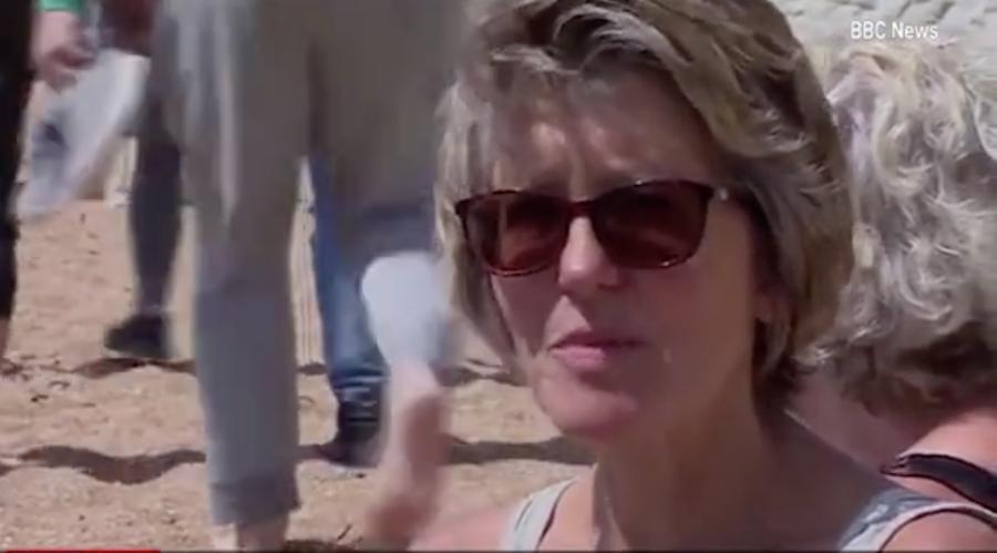 Джейн Пикок. Фото скриншот с видео Би-би-си