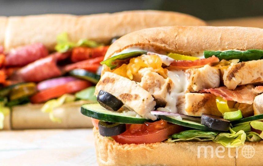 """Сендвич от Subway. Фото www.instagram.com/subway/, """"Metro"""""""