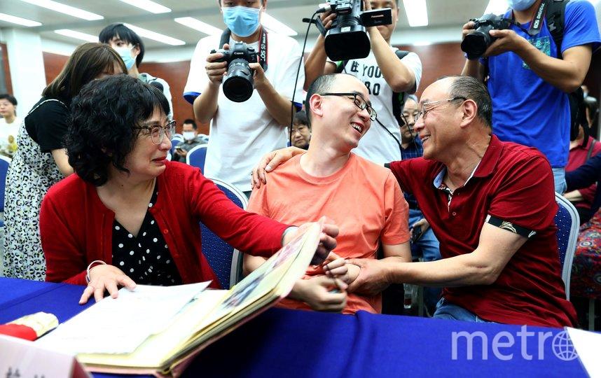 Пара из Китая нашла сына, которого похитили 32 года назад. Фото AFP