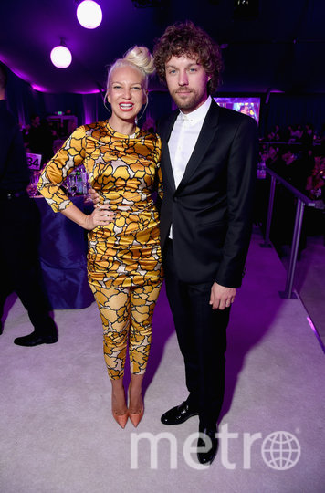 Sia с бывшим мужем. Фото Getty