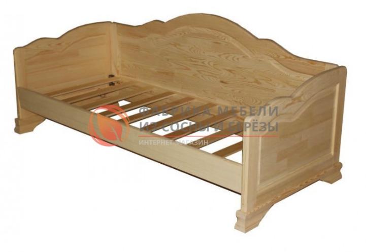"""Диван-кровать """"Пётр"""". Фото скриншот мебельизсосны.рф."""