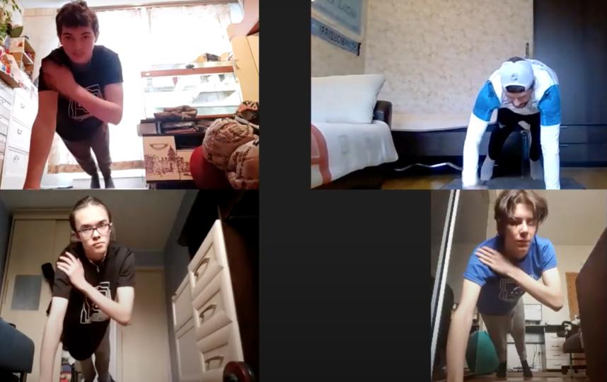 """Тренировки в лагере """"Киберлето-2020"""". Фото YouTube-канал Вероники Воробьёвой"""