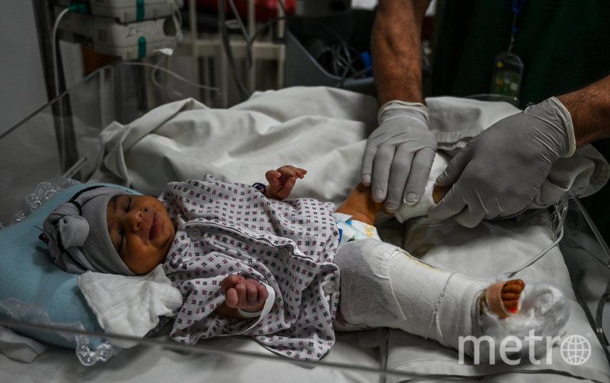 Сейчас Амина получает должное лечение. Фото AFP