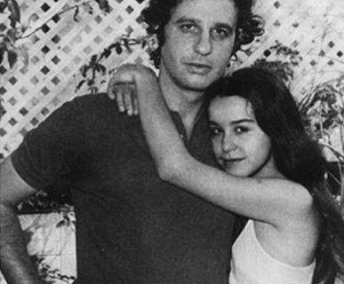 Луселия с мужем Джоном.