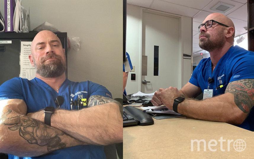 Мужчина надеется скоро восстановиться и начать заниматься кардиотренировками. Фото instagram.com/thebearded_nurse