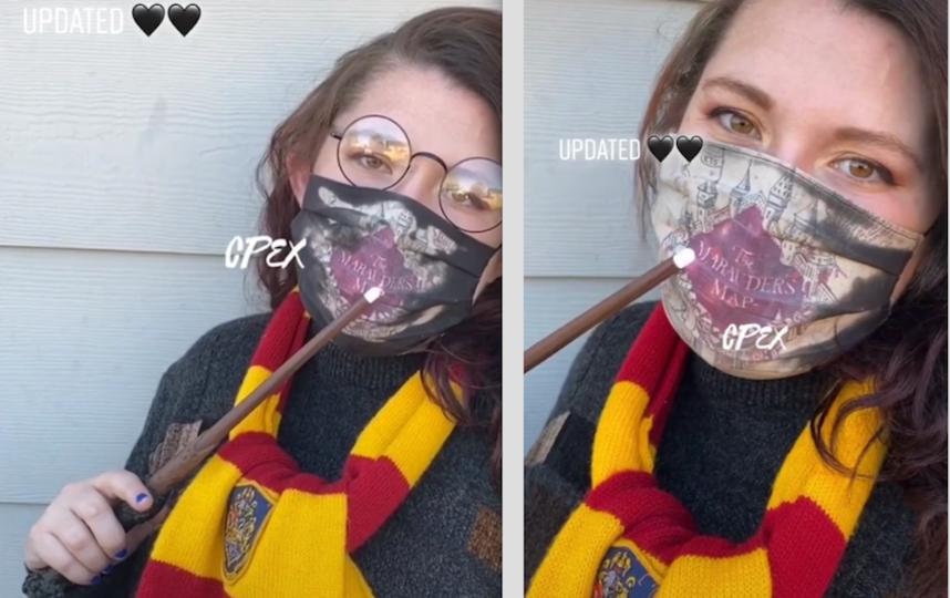 На изготовление одной маски у Хук уходит около 17 часов. Фото скриншот: tiktok.com/@coloradopex?