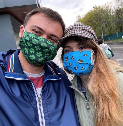 Олег Елисеев и Варвара Караулова. Фото Facebook Oleg Eliseev