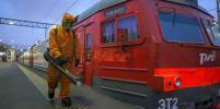 В Петербурге спасатели провели дезинфекцию Балтийского вокзала: фото