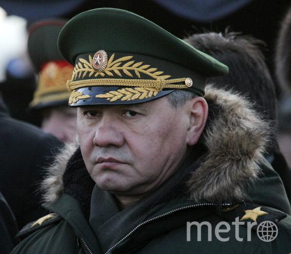 "Сергей Шойгу. Фото ""Metro"""