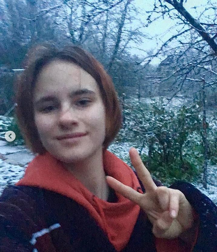 """Май «радует» нас снегом, ветром и холодами!... Весна, аууууууу!!!!"" Фото Instagram: @sadovnikova_m_"
