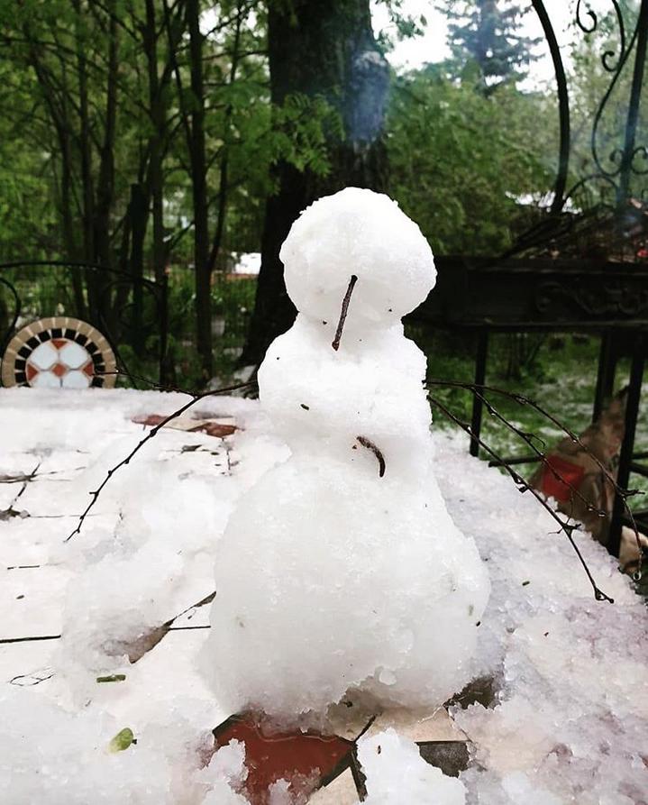 """Москва. Куркино. """"Некоторые сюрпризы сваливаются вам как снег на голову... А другие подкрадываются, когда вы меньше всего их ждете. И иногда самый большой сюрприз ты делаешь себе сам... Видеть прекрасное в мелочах и удивляться каждому дню - счастье!"""" Фото Instagram: @olga_07.06"""
