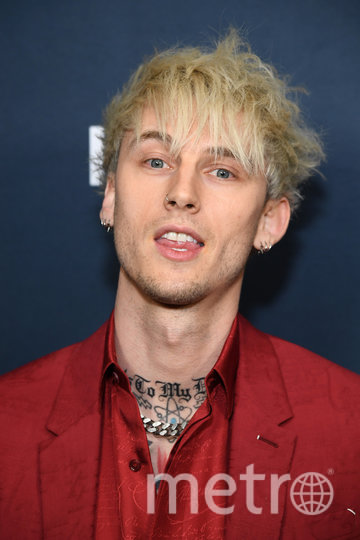 Machine Gun Kelly. Фото Getty