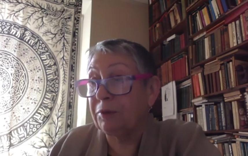 Людмила Улицкая зачитала рассказ. Фото скриншот Youtube, Скриншот Youtube