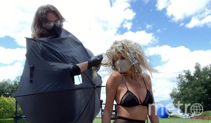 Хайди Клум доверила окрашивание звёздному стилисту по волосам Лоренцо Мартину. Фото instagram.com/heidiklum