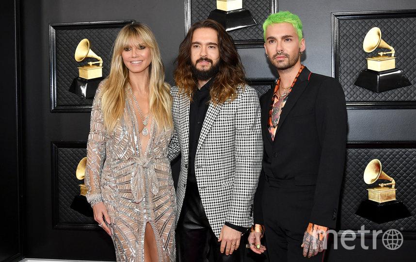 Хайди Клум замужем за 30-летним гитаристом группы Tokio Hotel Томом Каулитцем. Фото Getty