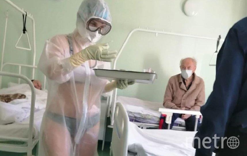 Та самая девушка из Тульской областной больницы. Фото Скриншот Instagram/newstularu