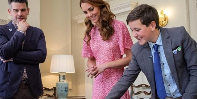 Платье Кейт уже надевала.