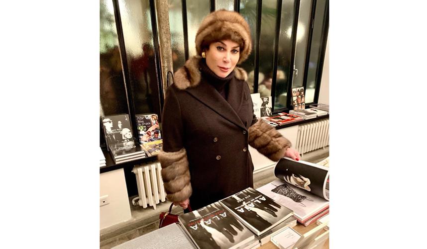 Алла Вербер в Париже. Фото instagram.com/verberalla