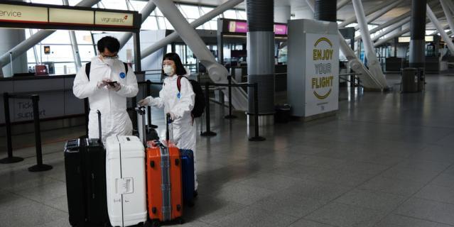 В аэропорты не пустят людей с температурой выше 37 градусов.