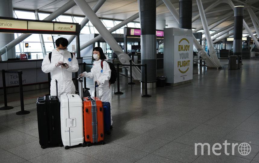 В аэропорты не пустят людей с температурой выше 37 градусов. Фото Getty